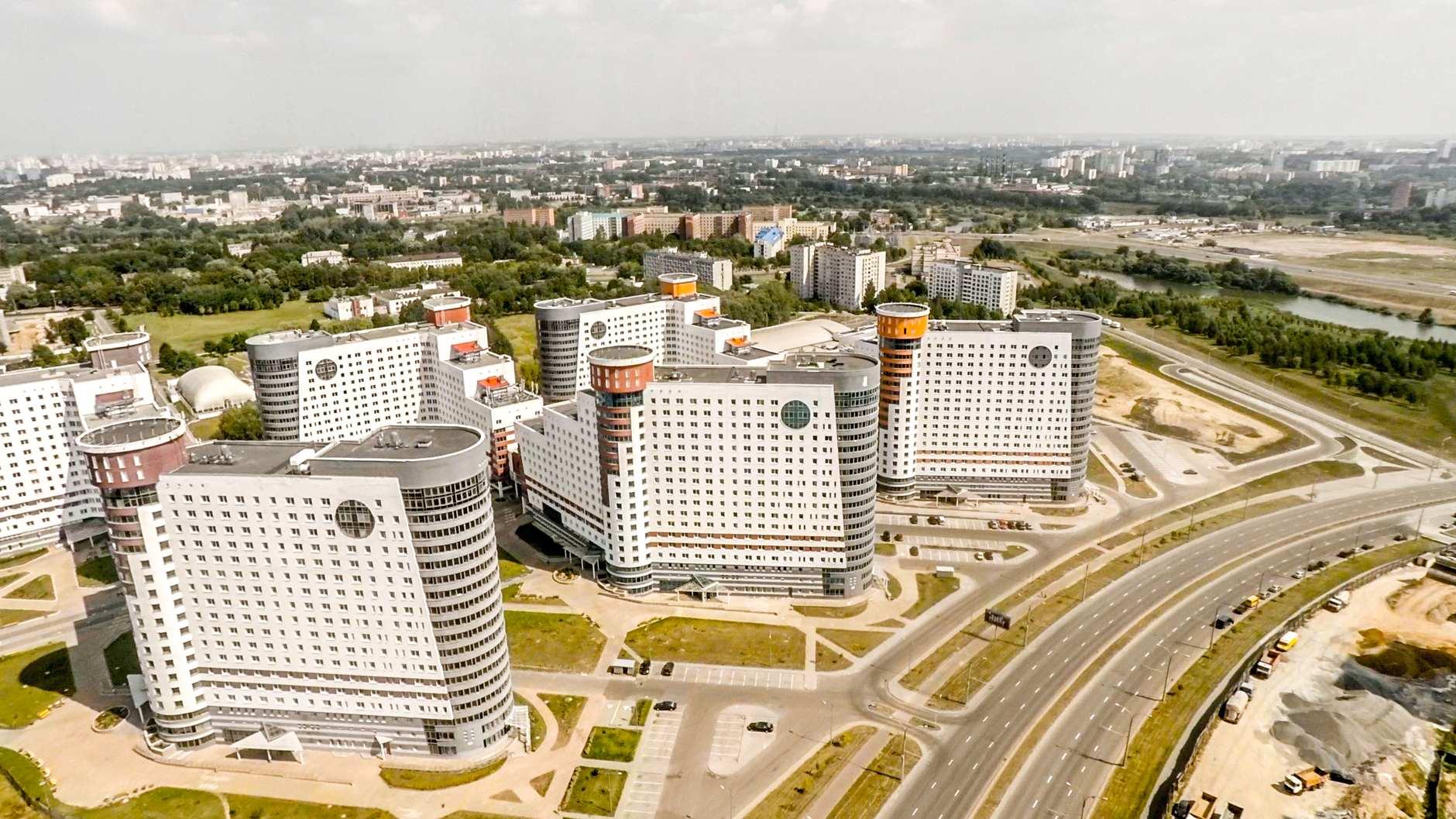 Студенческая деревня — жилой комплекс в Минске, где проживает 7000 студентов из девяти вузов Минска. На территории деревни расположена поликлиника, торговый центр, Ледовый дворец, детский сад. В каждом общежитии есть тренажёрные залы, прачечные, медпункты, предусмотрены места для буфетов и столовых