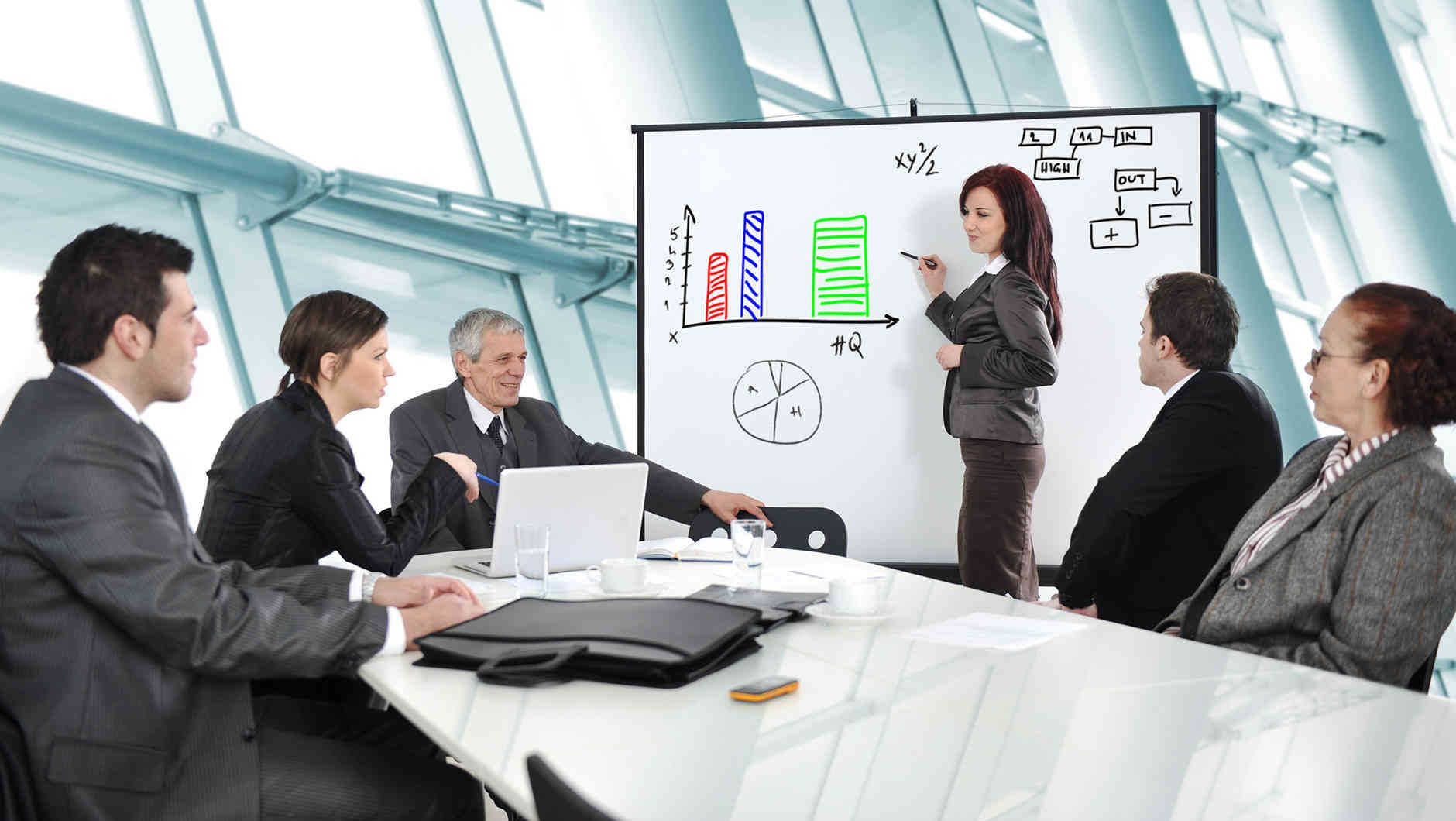 business presentation Business project plan presentation (widescreen) if you want management and stakeholders to back your business project, you'll need a well-crafted project plan this accessible template includes slides for the project description, scope, objectives, deliverables, success factors, implementation details, performance measures, and risk management.